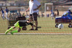 eda goalkeeper training